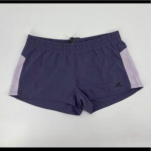 Woman's Adidas 3S Performance Shorts Size Large